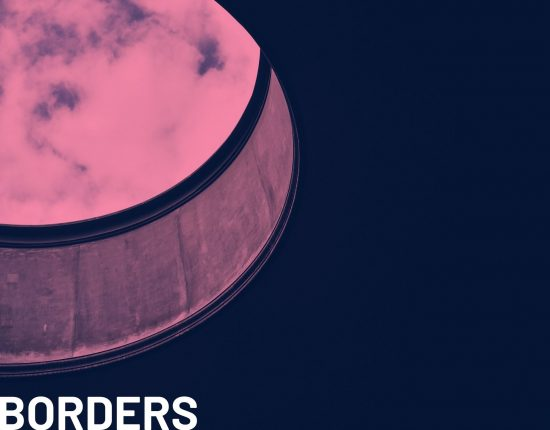 image of sky through manhole