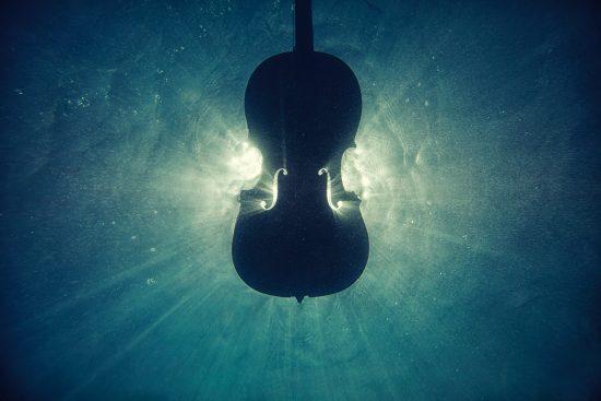 cello underwater